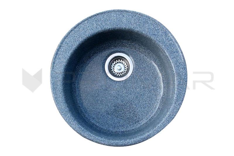 Okrągły zlewozmywak kwarcowy ZKW-06A