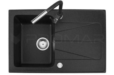 Zlewozmywak granitowy prostokątny Carina firmy Brenor