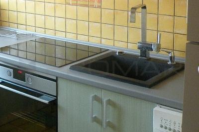 Prostokątny zlew kuchenny ZGR-22