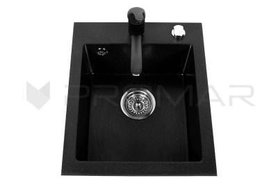 Zlewozmywak jednokomorowy granitowy Rigo do szaki 40 cm - sklep PROMAR