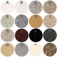 Kolorystyka zlewozmywaków kwarcowych firmy Anfra
