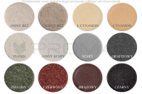 Zlewozmywak granitowy ZGR-13 - kolory