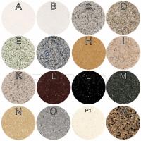Zlewozmywak kwarcowy jednokomrowy ZKW-08 - kolory